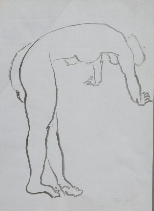 Nude-2903 (17.75x14.25) Black Ink on Paper.JPG