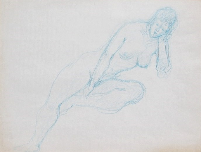 Nude-2904 (10.5x12.5) Colour Pencil on Paper.JPG