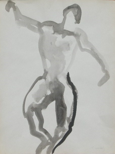 Nude-2909 (14x10.5) Black Ink on Paper.JPG